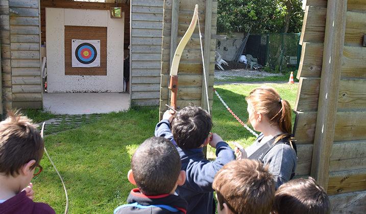 Tir à l'arc : tournoi jeunes de Seine-et-Marne
