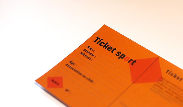 Le ticket sport