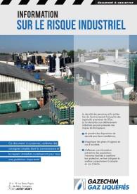 Plaquette d'information sur le risque industriel – 2014