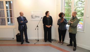 Vernissage de l'exposition des œuvres de Tarik Essalhi