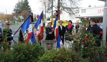Cérémonies du 97e anniversaire de l'Armistice
