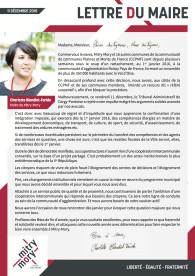 Lettre du maire – Décembre 2015