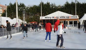 Inauguration de la patinoire et du marché de Noël