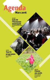 L'Agenda – Mars 2016