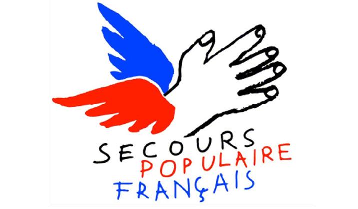 Grande braderie du Secours populaire français
