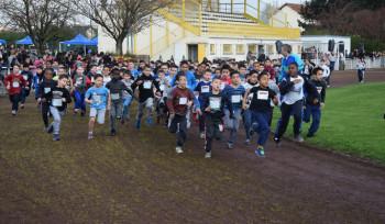 Cross scolaire : 1 600 coureurs réunis