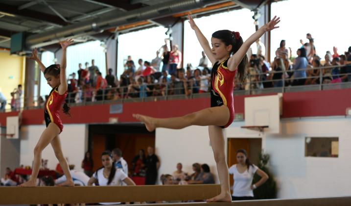 Compétition régionale de gymnastique