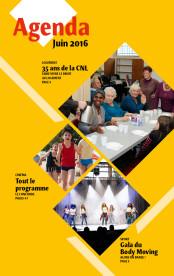 L'Agenda – Juin 2016