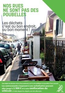 Nos rues ne sont pas des poubelles