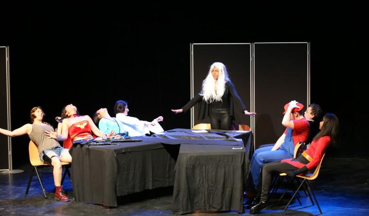 Théâtre ados par le CMCL