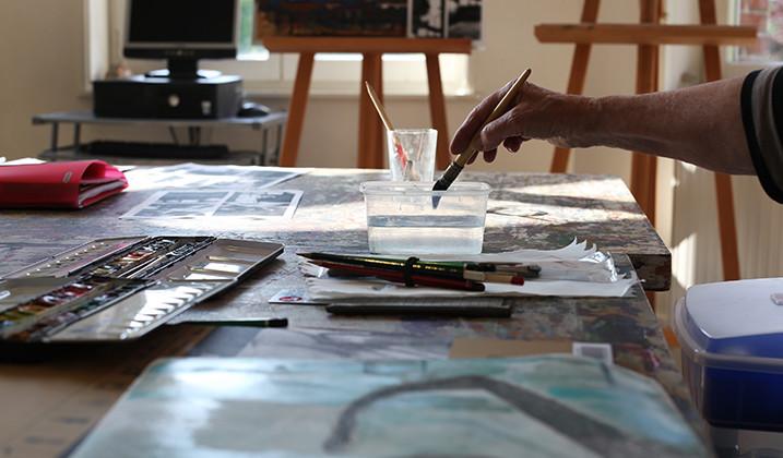 Les stages de l'Atelier – Aquarelle