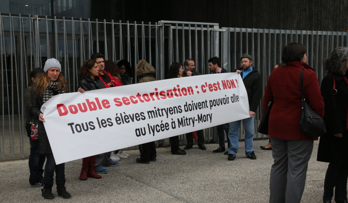Double sectorisation : on ne baisse pas les bras !
