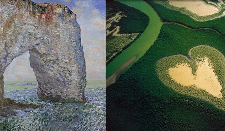 Les stages de l'Atelier – Claude Monet versus Yann Arthus Bertrand