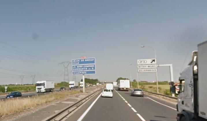 Réduction des vitesses maximales autorisées sur l'A104