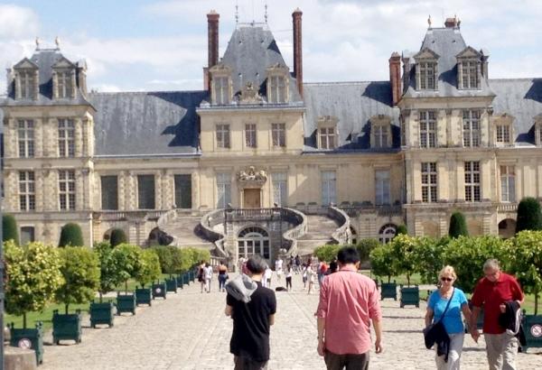 Sortie familiale à Fontainebleau