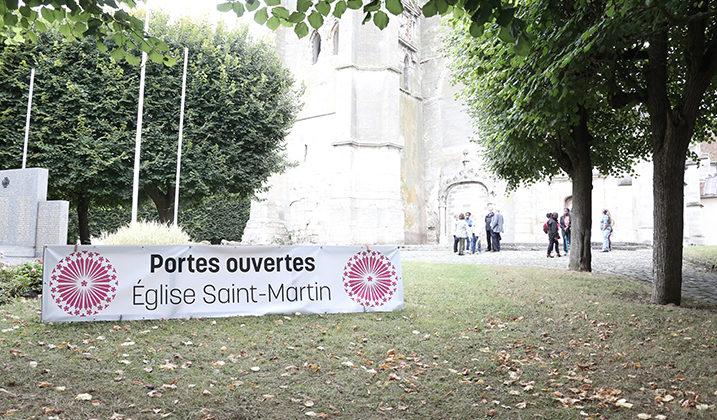 Journées du patrimoine : visite de l'église Saint-Martin