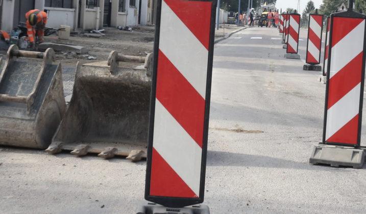 La rue de Villeparisis en chantier