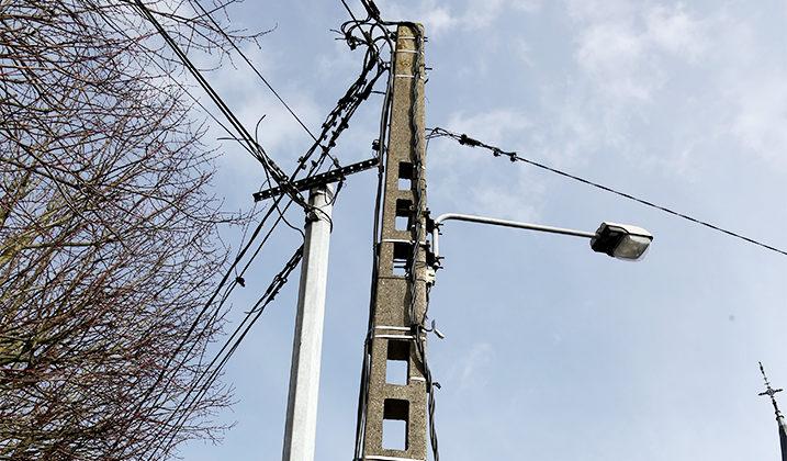 Enfouissement des réseaux électriques d'éclairage public