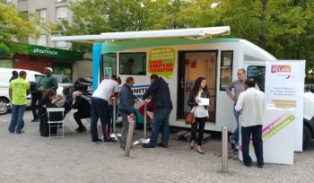 Le bus de l'initiative s'arrête à Mitry-Mory