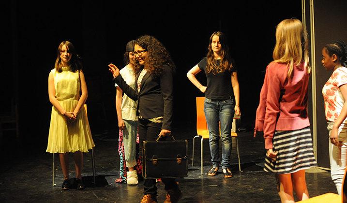 Spectacle de fin d'année : théâtre ados