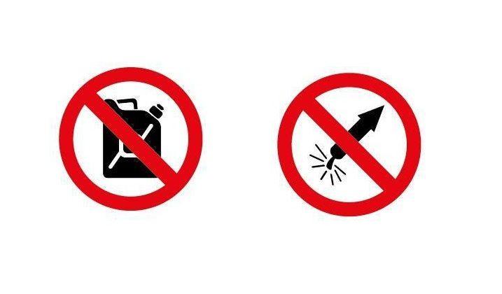 Réglementation de la vente de carburant et d'artifices à l'occasion de la fête nationale