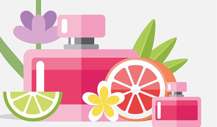 Atelier de fabrication de parfum