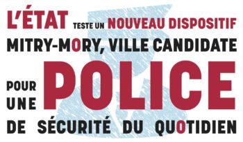 La Ville candidate au dispositif d'État de Police de Sécurité du Quotidien
