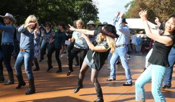 Danse de plein air
