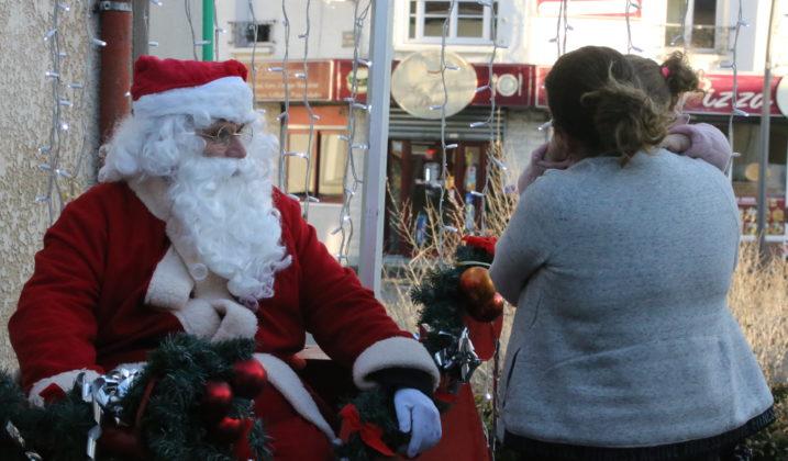 Les commerçants fêtent Noël