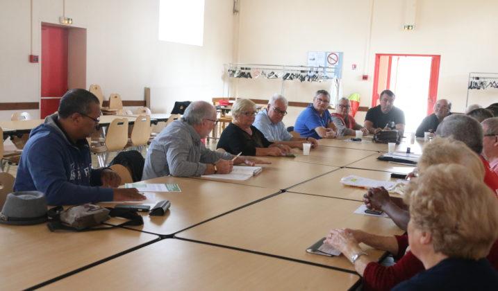 Assemblée générale des cheminots retraités