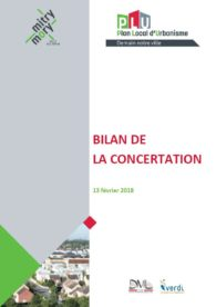 Bilan de la concertation Mitry-Mory demain