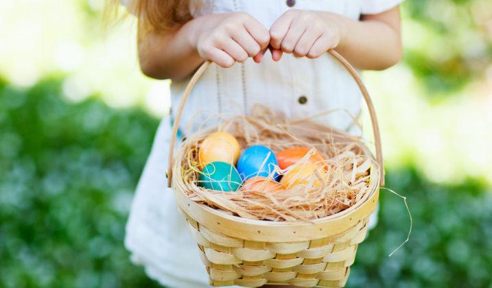 Création de paniers de Pâques