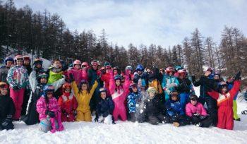 360 élèves partis en classes de neige