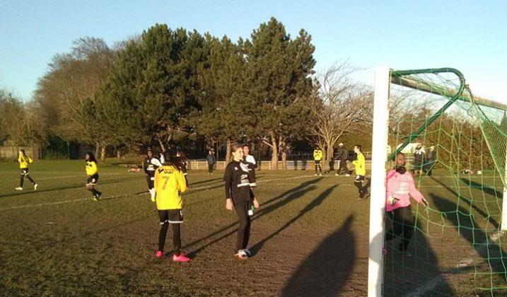 Tournoi de foot féminin seniors de l'ASPOM