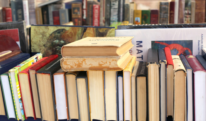 Atelier livres détournés