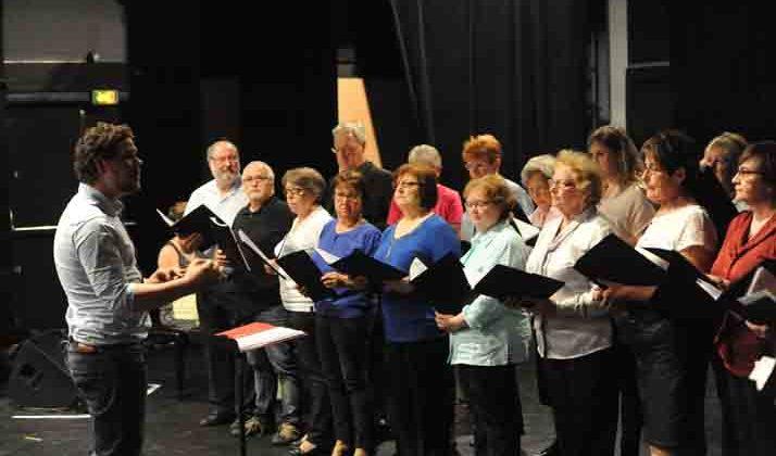 Concert de la chorale adulte du conservatoire