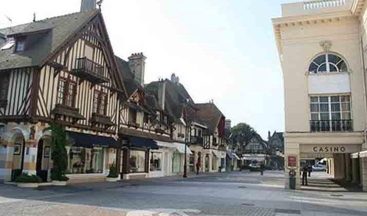 Sortie familiale à Deauville