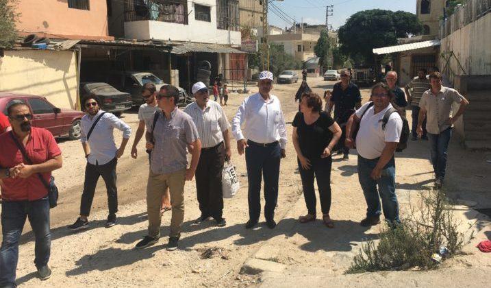 Soirée de retour de la délégation mitryenne de Nahr el-Bared