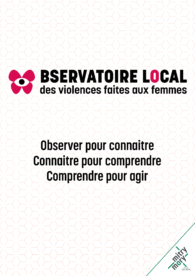 Plaquette de l'Observatoire local des violences faites aux femmes