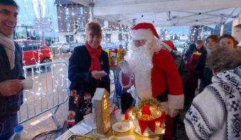 Les commerçants fêtent Noël avec les Mitryen-ne-s