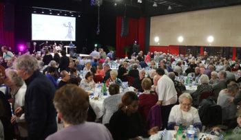 Les repas de l'amitié placés sous le signe de la Grèce