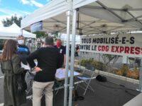 Séance d'adhésion à l'Association de Défense des Riverains du CDG Express