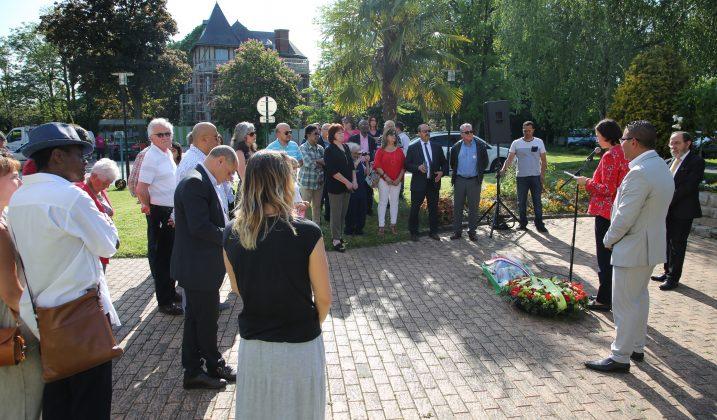 Hommage aux victimes du massacre de Sétif, Guelma et Kherrata