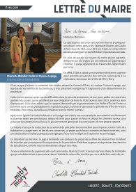Lettre du maire – Mai 2019