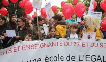 Mobilisation contre la loi Blanquer et la réforme du bac