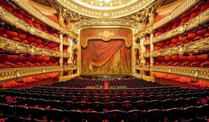 Visite des coulisses de l'opéra Garnier