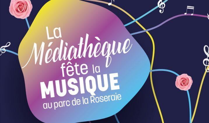 La Médiathèque fête la musique