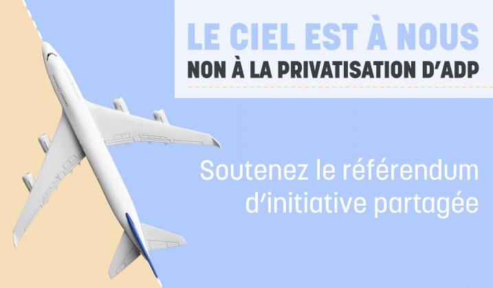 Le ciel est à nous : soutenir le référendum d'initiative partagée
