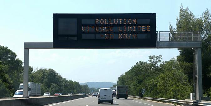Risque de pollution de l'air à l'ozone particulièrement élevé