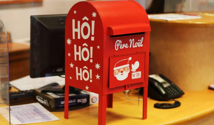 Le Père Noël attend vos messages